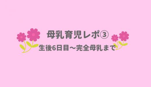 【母乳育児レポ③】生後6日目〜完全母乳になるまでの全記録を公開します!