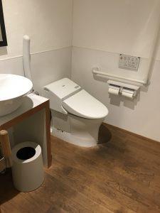 阿南市「あかりカフェ」トイレ