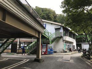 剣山 リフト乗り場 見ノ越登山口
